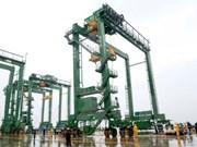 越南斗山重工业有限公司向沙特出口8台越南产的RTGC起重机