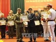 越南援老志愿军和专家荣获老挝国家的勋章