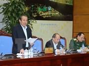 越南政府副总理张和平:越南应多措并举 遏制交通事故和缓解交通拥堵
