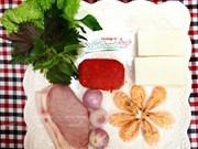 越南美食:清化烤虾卷