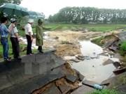 越南政府为中部地区灾民克服台风和洪水后果提供资助