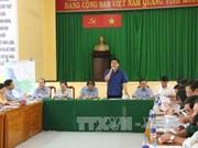 胡志明市市委书记丁罗升赴芹耶县调研