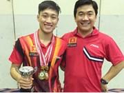 越南选手阮英秀夺得男单金牌