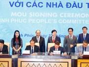 越南政府总理阮春福出席永福省投资促进会