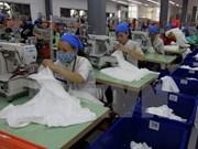 2016年越南纺织服装集团营业总收入约达17.6亿美元