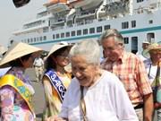 2016年承天顺化省真云港国际游客接待量近8.7万人次