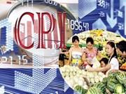 2016年月均越南居民消费价格指数增长2.66%