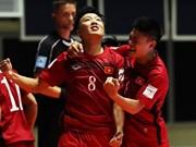 国际足球联合会:越南年轻球队取得令人印象深刻的胜利