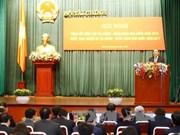 阮春福总理:财政部门应在建设服务型政府和财政机关起到带头作用