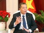 越南驻华大使邓明魁:阮富仲访华有助于进一步加强两国在各领域的合作