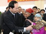国家主席陈大光走访慰问老街省优抚家庭及贫困户