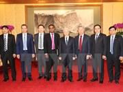 阮富仲总书记会见中国若干集团领导