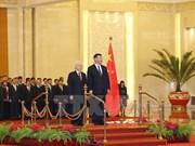 阮富仲总书记圆满结束对中国的正式访问