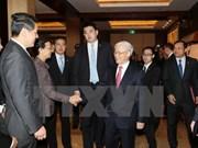 越共中央总书记阮富仲:企业为促进越中经济合作关系做出贡献