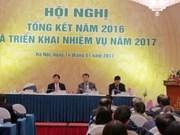 越南化工集团举行2016年工作总结暨2017年任务部署会议