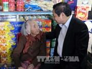 范明正和武文赏春节前赴各省开展走访慰问活动