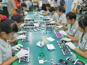 2016年越南从中国的手机及零件进口额达61.43亿美元