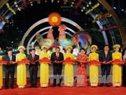 国会主席阮氏金银出席2017丁酉年春节阮惠花街开街仪式