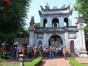 走进越南史上的第一所大学——文庙--国子监