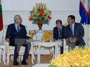 柬埔寨与缅甸加强合作关系