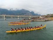 热闹非凡的2017年山罗省传统划船比赛