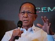 """菲国防部长洛伦扎纳:菲政府与""""新人民军""""有可能继续进行和谈"""