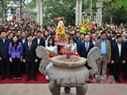 范五老将军出征抗敌742周年纪念典礼暨扶拥庙会开庙仪式在兴安省举行