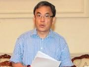 越南新任驻加拿大大使阮德和向加拿大总督约翰斯顿递交国书
