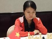 2017年国际象棋女子世锦赛:越南棋手范黎草原取得开门红