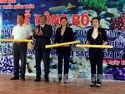 越南广义省成立李山海洋保护区