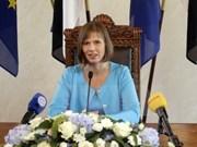 爱沙尼亚领导和人民一向关注并希望推进越爱两国的合作关系