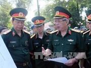 越南一号野战医院为年底参加联合国维和行动做出充分准备