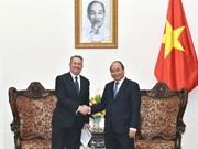 越南政府总理阮春福会见大不列颠及北爱尔兰国际贸易部大臣