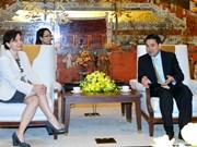 越南河内市欢迎意大利企业前来寻找投资商机