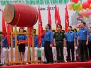 越南政府副总理王廷惠出席2017年青年月运动启动仪式