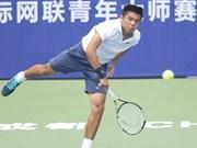 李黄南参加2017年中国男网F3未来赛