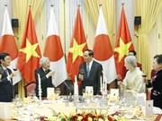 越南国家主席陈大光与夫人主持国宴 欢迎日本天皇明仁和皇后访越