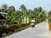 韩国协助后江省展开新农村建设