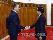 越南政府副总理兼外交部长范平明高度评价欧洲商会的作用