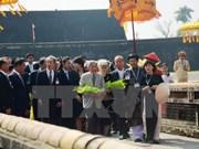 日本天皇与夫人参观顺化古都