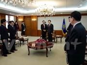 韩国领导人高度评价越韩关系的发展势头