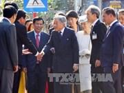 日本天皇与皇后对顺化市民的隆重和诚挚接待表示感激