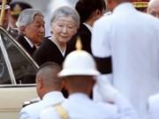 日本天皇明仁离开越南 前往泰国曼谷吊唁已故泰王蒲眉蓬