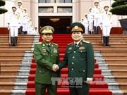 进一步推动越缅两国防务合作