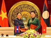越老两国国会签署合作协议