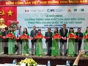 越南农民采用国际标准推动稻米可持续生产