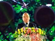 """阮春福总理:希望在全球咖啡爱好者心目中一直存在着""""西原""""两个字"""