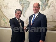 越美两国一致同意加强双边和多边合作关系