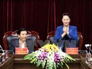 国会主席阮氏金银:奠边省需充分发挥优势 加强合作推动旅游业发展