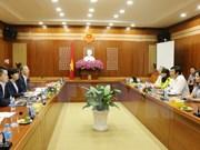越南朔庄省与日本合作发展清洁农业